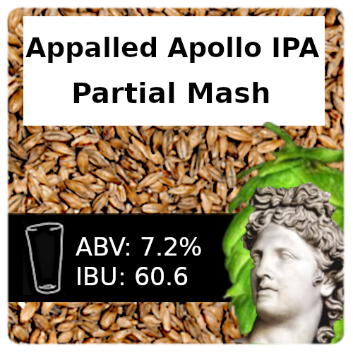 Appalled Apollo IPA - Partial Mash