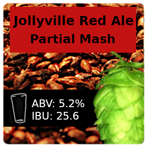 Jollyville Red Ale Partial Mash Recipe Kit