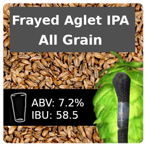 Frayed Aglet IPA All Grain Recipe Kit
