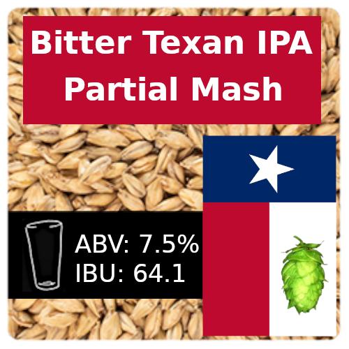 Bitter Texan IPA Partial Mash Recipe Kit