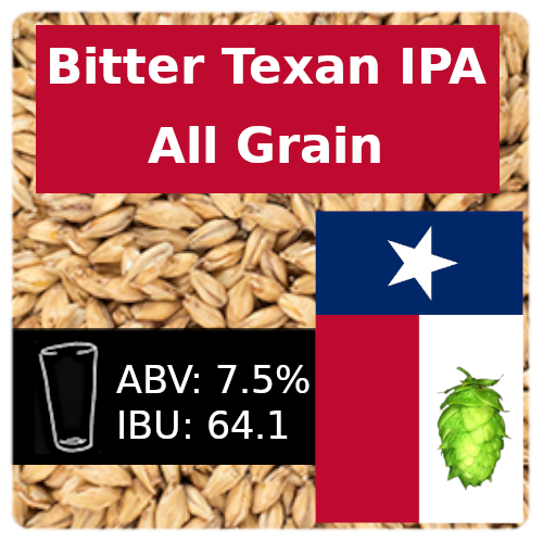 Bitter Texan IPA All Grain Recipe Kit
