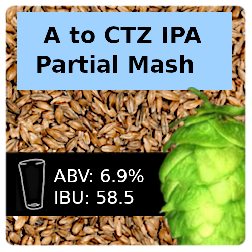 A to CTZ IPA Partial Mash Recipe Kit