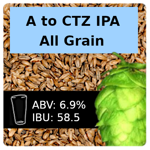 A to CTZ IPA All Grain Recipe Kit