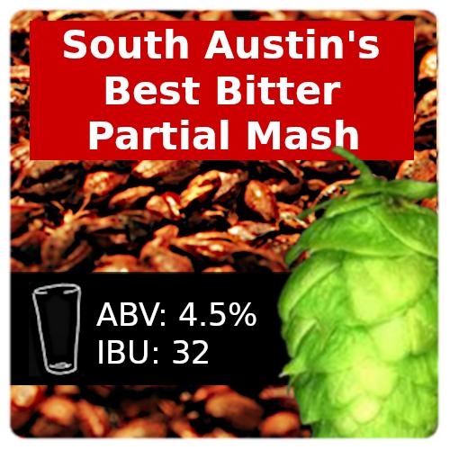 South Austin's Best Bitter Partial Mash Recipe Kit