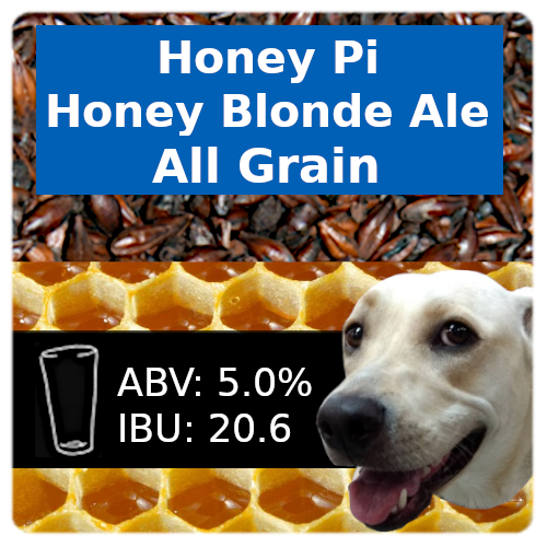 Honey Pi Honey Blonde Ale All Grain Recipe Kit