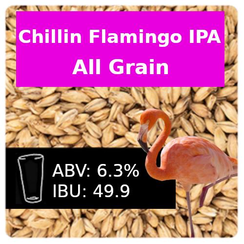 Chillin Flamingo IPA All Grain Recipe Kit