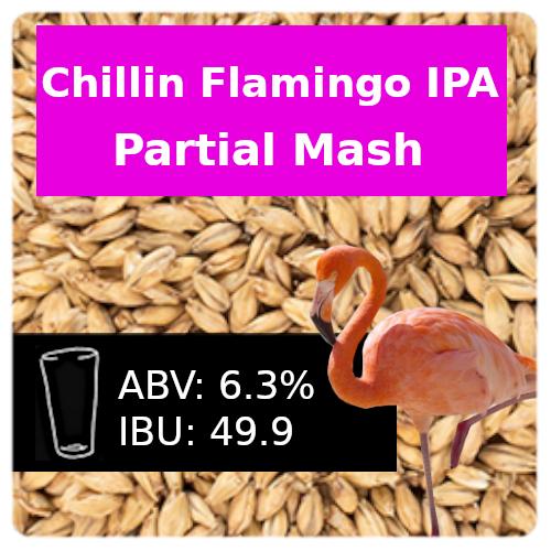 Chillin Flamingo IPA Partial Mash Recipe Kit