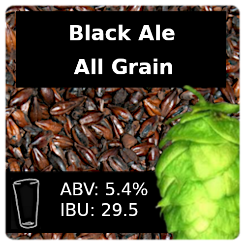 SoCo Black Ale All Grain Recipe Kit