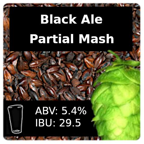 SoCo Black Ale Partial Mash Recipe Kit