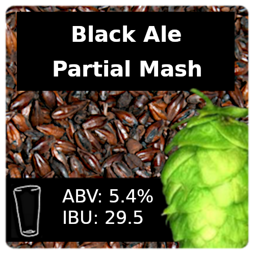 SoCo Black Ale Partial Mash Recipe Kit