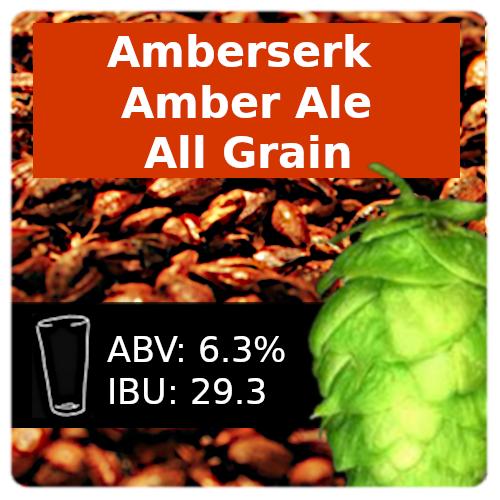 Amberserk Amber Ale All Grain Recipe Kit