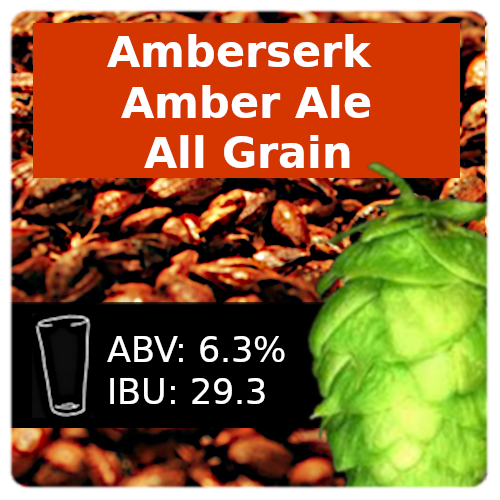 Amberserk Amber Ale All Grain Recipe Kit