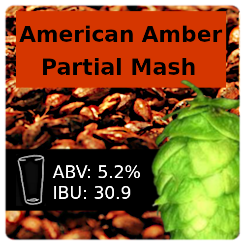 SoCo American Amber Ale Partial Mash Recipe Kit