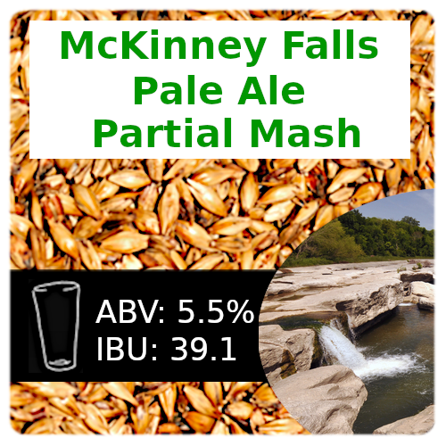 SoCo McKinney Falls Pale Ale Partial Mash Recipe Kit