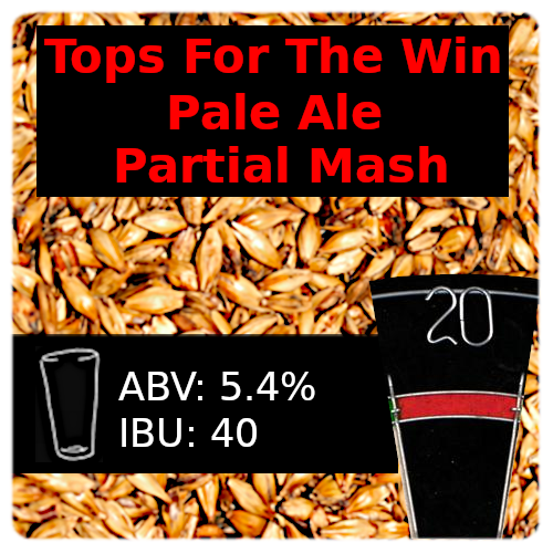 Tops For The Win Pale Ale Partial Mash Recipe Kit