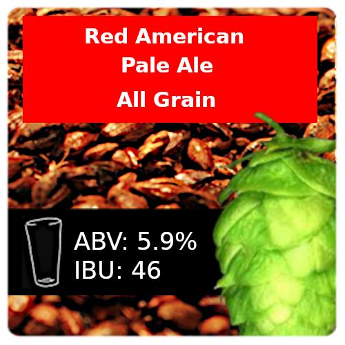 SoCo - Red American Pale Ale (APA) - All Grain