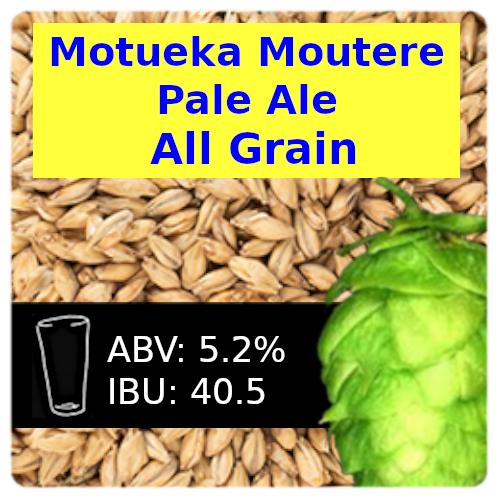 SoCo Motueka Moutere Pale Ale All Grain Recipe Kit