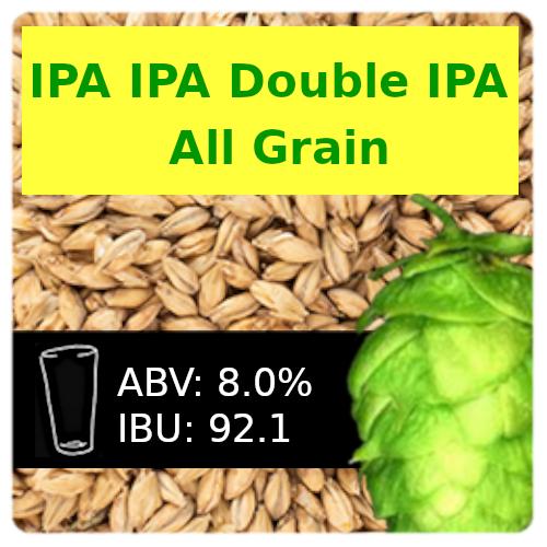 IPA IPA Double IPA Partial Mash Recipe Kit