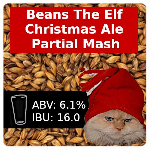 Beans The Elf Christmas Ale Partial Mash Recipe Kit