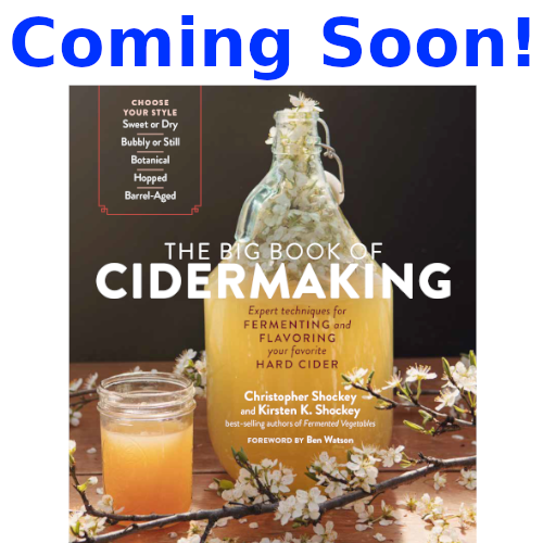 The Big Book of Cidermaking (Shockey & Shockey)