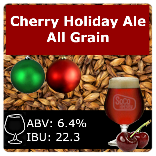 Cherry Holiday Ale - All Grain