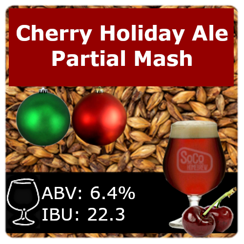 Cherry Holiday Ale - Partial Mash