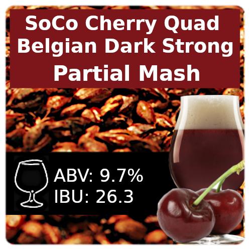 SoCo Cherry Quad  Partial Mash Recipe Kit