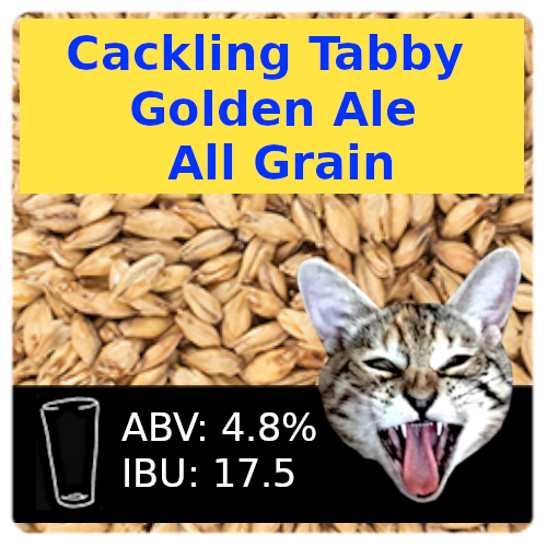 Cackling Tabby Golden Ale All Grain Recipe Kit