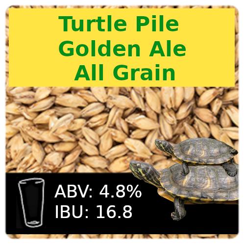 Turtle Pile Golden Ale All Grain Recipe Kit