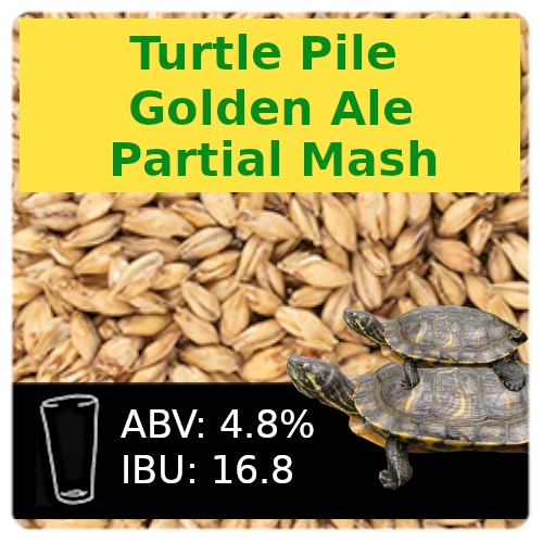 Turtle Pile Golden Ale Partial Mash Recipe Kit