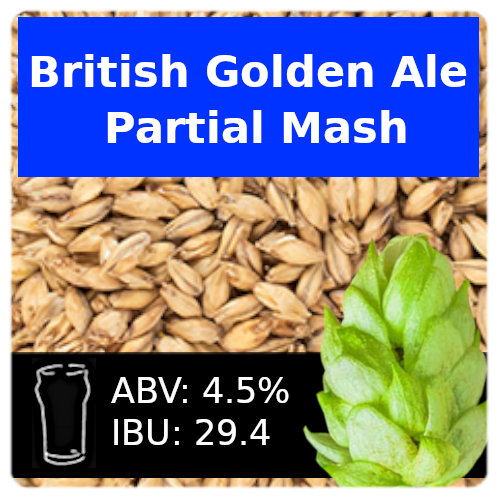 SoCo British Golden Ale Partial Mash Recipe Kit