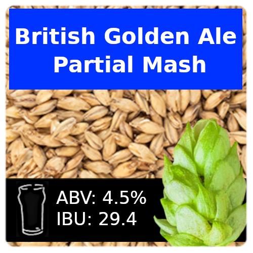 SoCo British Golden Ale Partial Mash Recipe Kit