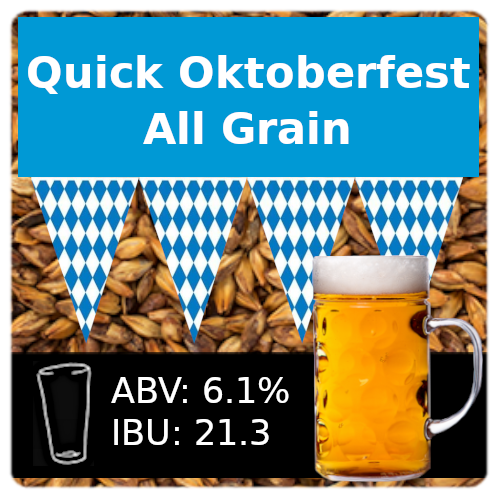 SoCo Quick Oktoberfest Ale All Grain Recipe Kit