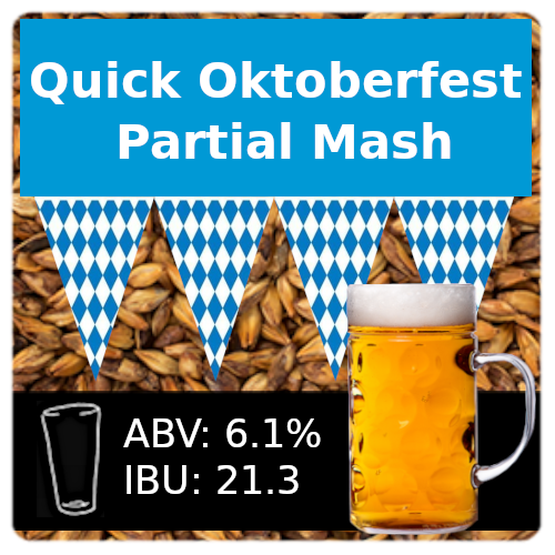 SoCo Quick Oktoberfest Ale Partial Mash Recipe Kit