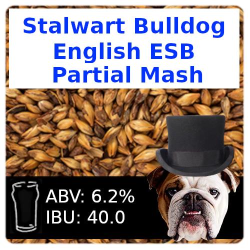 Stalwart Bulldog ESB Partial Mash Recipe Kit
