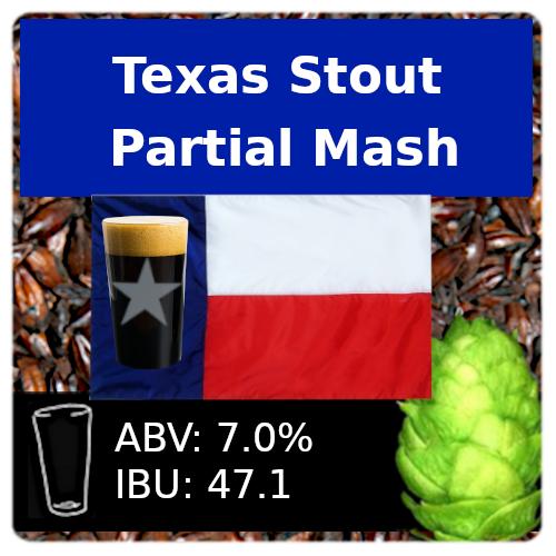 SoCo Texas Stout Partial Mash Recipe Kit