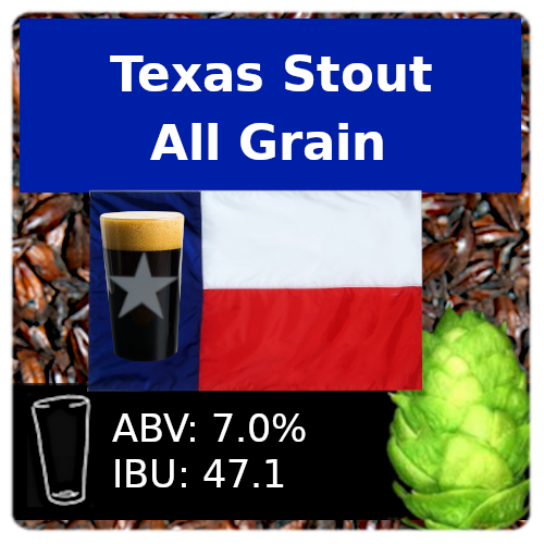 SoCo Texas Stout All Grain Recipe Kit