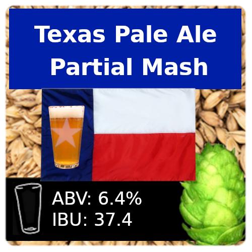 SoCo Texas Pale Ale Partial Mash Recipe Kit