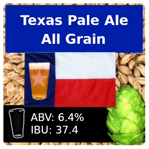 SoCo Texas Pale Ale All Grain Recipe Kit