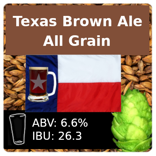 SoCo Texas Brown Ale All Grain Recipe Kit