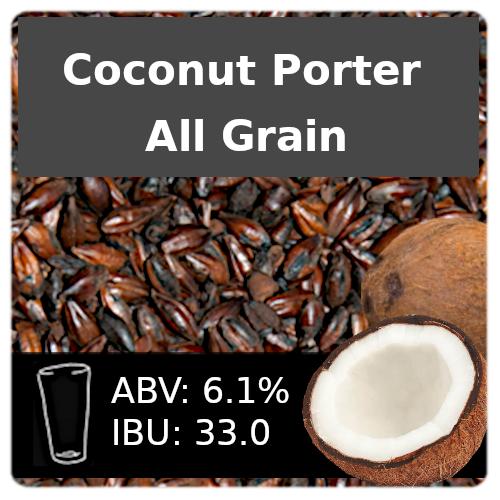SoCo Coconut Porter All Grain Recipe Kit