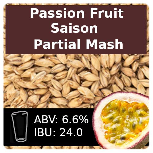 SoCo Passion Fruit Saison Partial Mash Recipe Kit