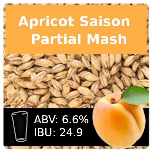 SoCo Apricot Saison Partial Mash Recipe Kit