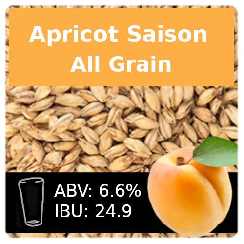 SoCo Apricot Saison All Grain Recipe Kit