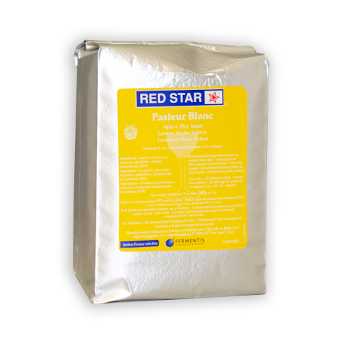 Red Star Premier Blanc Yeast (Formerly Pasteur Champagne Yeast) - 500 GRAM