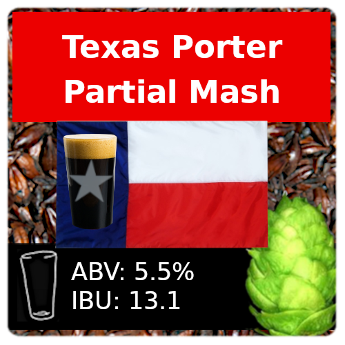 SoCo Texas Porter Partial Mash Recipe Kit