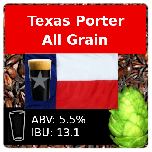 SoCo Texas Porter All Grain Recipe Kit