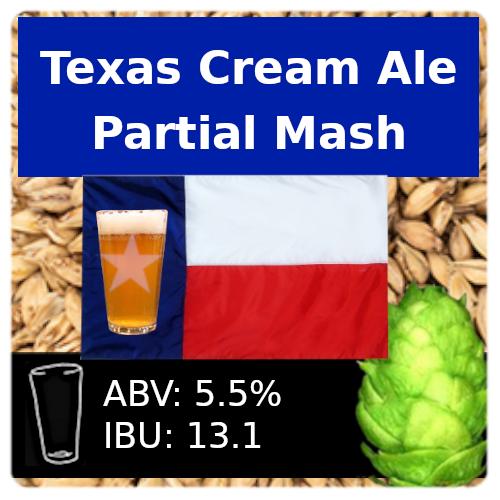 SoCo Texas Cream Ale Partial Mash Recipe Kit