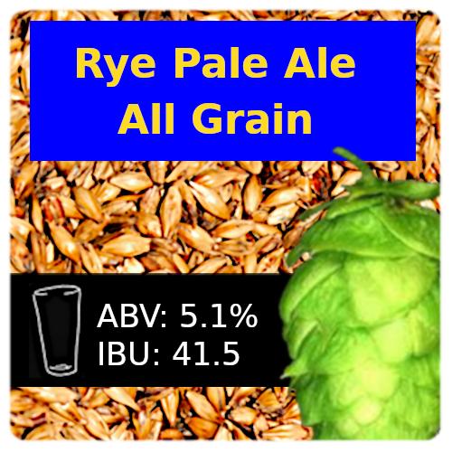 SoCo - Rye Pale Ale - All Grain