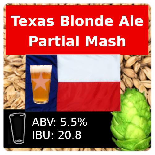 SoCo Texas Blonde Ale Partial Mash Recipe Kit